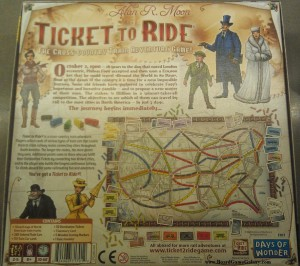 Box back of Ticket to Ride
