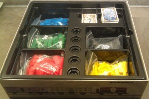 Ticket to ride box with contents