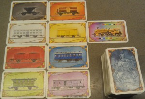 Ticket to Ride wagon cards