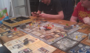 Lords of Waterdeep board plus expansion Scoundrels of Scullport.