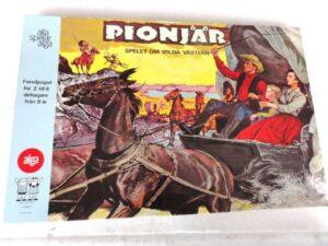 The swedish boardgame Pionjär from Alga.